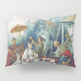 Le Jardin Chinois by François Boucher Pillow Sham