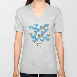 choose love Unisex V-Neck