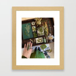 Lily of the Valley Witch Framed Art Print