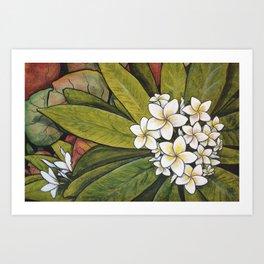 Tropical Calm Art Print