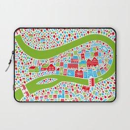 Wasserburg Poster Laptop Sleeve