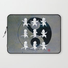 Tai Chi Cat Moves #1 Laptop Sleeve