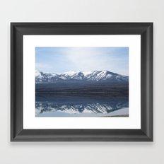 Flathead Lake  Framed Art Print