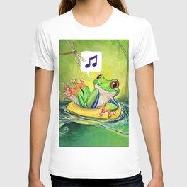 Lazy River Frog T-shirt