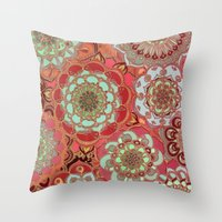 baroque Throw Pillows featuring Baroque Obsession by micklyn