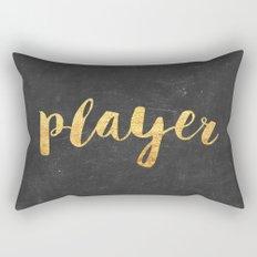 Player Rectangular Pillow