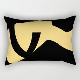 -BEQUEEN IN GOLD Rectangular Pillow
