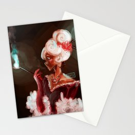 Red Velvet Lady Stationery Cards