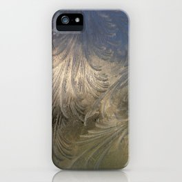 Ice Feathers iPhone Case