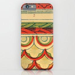 Owen Jones - famous 19th Century Grammar of Ornament iPhone Case