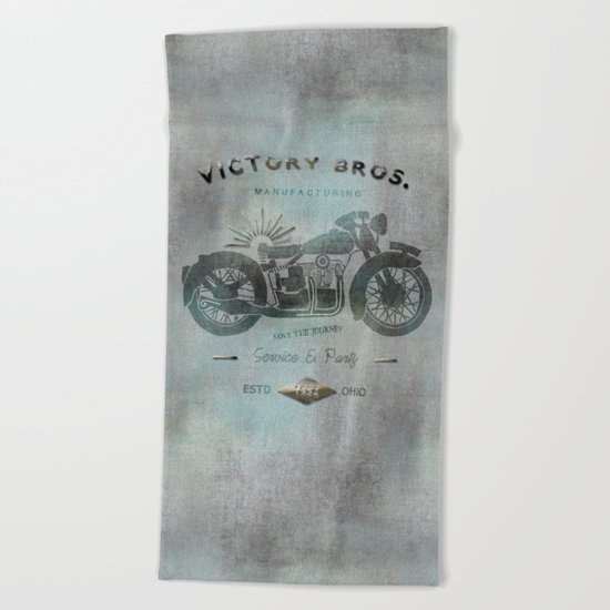 Motorbike Beach Towel