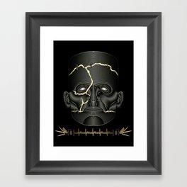 Frankenstein's Monster Framed Art Print