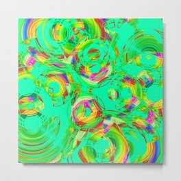 Abstract HJ Y Metal Print