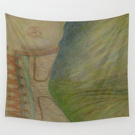 A Lingering Glance Wall Tapestry