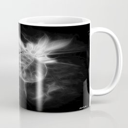 Mottled Red Poinsettia 1 Ephemeral Dark Coffee Mug