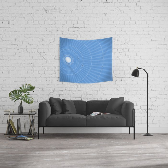 Solar System Cool Wall Tapestry