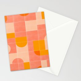 Retro Tiles 03 Stationery Cards