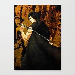 Black katana Yami Sukehiro Canvas Print