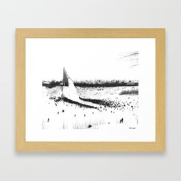 Winter Carnival Framed Art Print