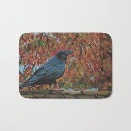 Autumn Raven Bath Mat
