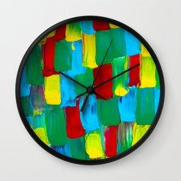 Warm, beating, frantic, winged Wall Clock