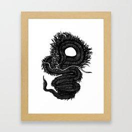 Kuroi Ryuu Framed Art Print