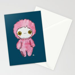 Moonkhin 1 (pink tranquil) Stationery Cards