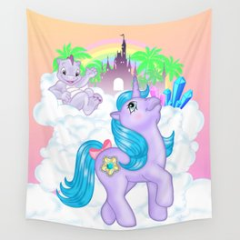 g1 my little pony Princess Amethyst and Spiny Wall Tapestry