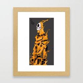 Forgotten Marvel Hero Framed Art Print
