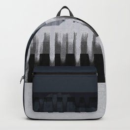 White Wash, Dark Alleys, Blue Wharf Backpack