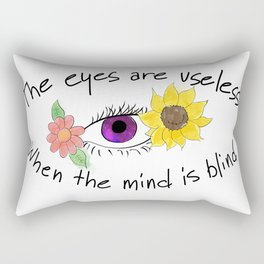 Beauty of the Opened Mind Rectangular Pillow