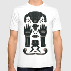 Raise yr Hands Mens Fitted Tee White SMALL