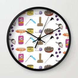 Cat-Mania Wall Clock