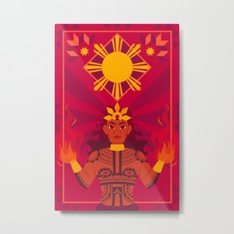 Apolaki: The Philippine Sun God Metal Print