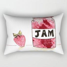 Strawberry VS Jam Rectangular Pillow