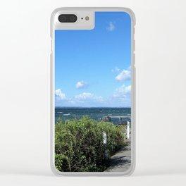 Picturesque Danish Coast Clear iPhone Case