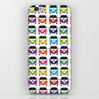 vw iPhone & iPod Skins featuring VW Campervan by chauloom
