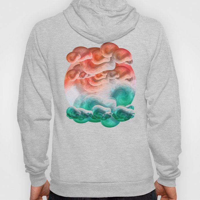 """""""Coral sand beach and tropical turquoise sea"""" Hoody"""