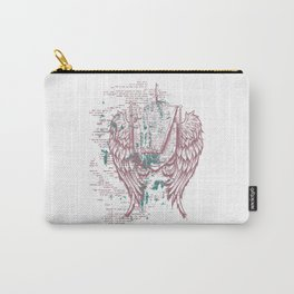 Angels Lyrics Flying Carry-All Pouch