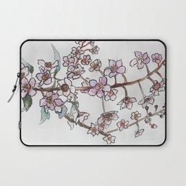 Sakura pink spring flowers Laptop Sleeve