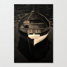 Boat of a Fisherman Canvas Print