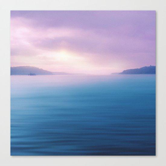 Sea - Pastel Canvas Print