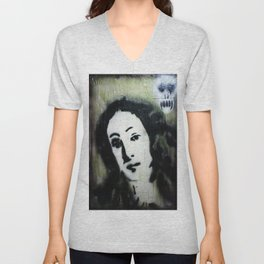 WE ARE MORE BEAUTIFUL THAN VENUS BECAUSE WE ARE DOOMED Unisex V-Neck