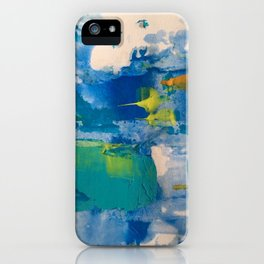 Morning bluesss iPhone Case