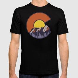 Boulder Flatirons Colorado T-shirt