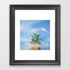 Pineapple Heaven Framed Art Print