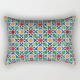 Moroccan mosaic Rectangular Pillow