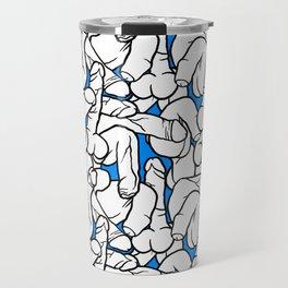 Schlong Song in Blue, All the Penis! Travel Mug