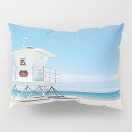 Lifeguard tower Carlsbad 35 Pillow Sham