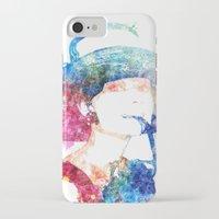 audrey hepburn iPhone & iPod Cases featuring Audrey Hepburn by Heaven7